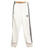 adidas(アディダス)の古着「ジャージパンツ」|ホワイト