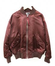 H BEAUTY&YOUTH(エイチビューティアンドユース)の古着「MA-1ジャケット」|ボルドー