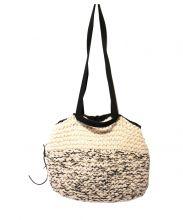 MUUN(ムーニュ)の古着「2WAYニットバッグ」|オフホワイト