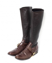 CELINE(セリーヌ)の古着「ブーツ」|ブラウン