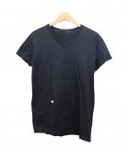 DIOR HOMME(ディオールオム)の古着「Bee刺繍VネックTシャツ」