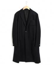 THE RERACS(ザ・リラクス)の古着「チェスターコート」|ブラック