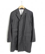 BKT by Brooklyn Tailors(ビーケーティーバイブルックリンテイラーズ)の古着「チェスターコート」|グレー