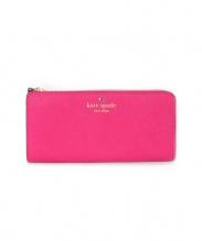 Kate Spade(ケイトスペード)の古着「L字ファスナー長財布」|ピンク