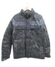 adidas(アディダス)の古着「パテッドジャケット」|ブラック