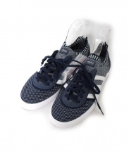 adidas Skateboarding(アディダス スケートボーディング)の古着「ローカットスニーカー」|ネイビー