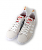 adidas(アディダス)の古着「ローカットスニーカー」 ベージュ