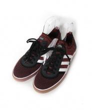 adidas Skateboarding(アディダス スケートボーディング)の古着「ローカットスニーカー」|ブラック×ピンク