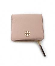 TORY BURCH(トリーバーチ)の古着「2つ折り財布」|ベージュ