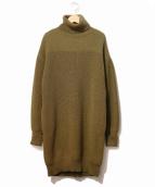 THE SHINZONE(ザ シンゾーン)の古着「ミリタリータートルドレス」|オリーブ