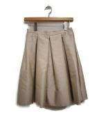 PRADA(プラダ)の古着「タックフレアスカート」