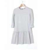 MIU MIU(ミュウミュウ)の古着「ワンピース」|ライトグレー