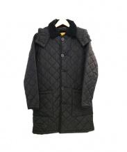 MACKINTOSH(マッキントッシュ)の古着「キルティングコート」 ブラック