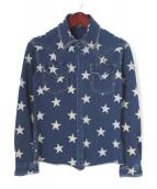 Francis T MOR.K.S(フランシストモークス)の古着「スウェットシャツ」|ネイビー