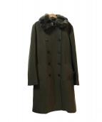 iCB(アイシービー)の古着「ファー付コート」