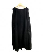 mizuiro-ind(ミズイロインド)の古着「ノースリーブワンピース」|ブラック