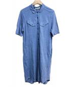 LACOSTE(ラコステ)の古着「リネンポロワンピース」