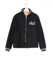 HIDE AND SEEK(ハイドアンドシーク)の古着「Melton Sport JKT」|ブラック