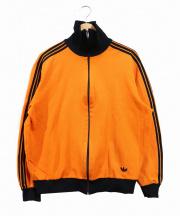 adidas(アディダス)の古着「70sトラックジャケット」|オレンジ