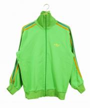 adidas(アディダス)の古着「70sトラックジャケット」|グリーン