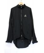 NIKE ACG(ナイキエーシージー)の古着「ナイロンジャケット」|ブラック