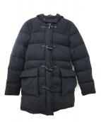CAPE HEIGHTS(ケープハイツ)の古着「ダウンダッフルコート」|ブラック
