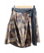 MARNI(マルニ)の古着「サイドリボンデザインスカート」
