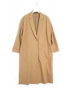 muller of yoshiokubo(ミュラー オブ ヨシオクボ)の古着「ロングコート」|キャメル
