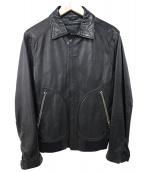 BARK TANNAGE(バークタンネイジ)の古着「シープスキンレザージャケット」