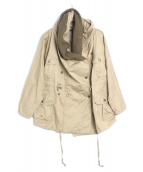 KAPITAL(キャピタル)の古着「ミリタリーコート」|ベージュ