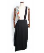 Ameri VINTAGE(アメリヴィンテージ)の古着「ワンショルダースカーフスカート」