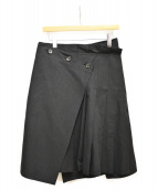 YOHJI YAMAMOTO +NOIR(ヨウジヤマモトプリュスノアール)の古着「ラップスカート」