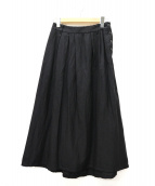 pas de calais(パドカレ)の古着「マキシスカート」|ブラック
