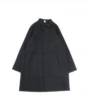 ISSEY MIYAKE HaaT(イッセイミヤケハート)の古着「インド綿シャツコート」