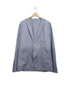 PRINGLE OF SCOTLAND(プリングルオブスコットランド)の古着「シャツジャケット」|ブルー