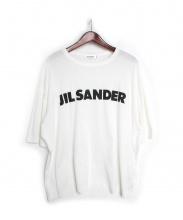 JIL SANDER(ジルサンダー)の古着「ビッグシルエットロゴTシャツ」 ホワイト