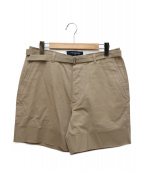 PHINGERIN(フィンガリン)の古着「DEVU SHORTS PANTS」|ベージュ