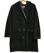 ADD(アド)の古着「フーデッドコート」 ブラック