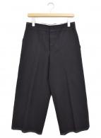 MARNI(マルニ)の古着「リネン混ワイドパンツ」|ブラック
