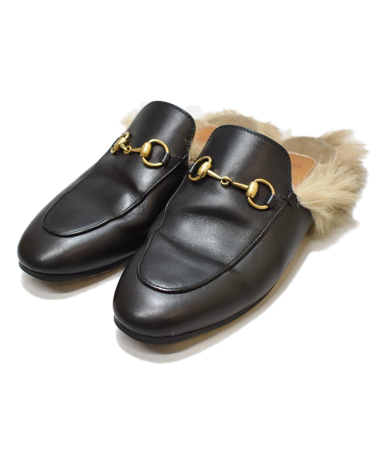 best sneakers 18427 9919e [中古]GUCCI(グッチ)のレディース シューズ プリンスタウンレザースリッパ