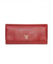 PRADA(プラダ)の古着「長財布」|レッド