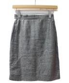 CHANEL(シャネル)の古着「サイドラインタイトスカート」|グレー