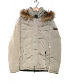 HETREGO(エトレゴ)の古着「ダウンジャケット」|ベージュ