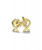Tiffany&Co.(ティファニーアンドコー)の古着「K18 ラビングハート ピアス」