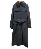 BY MALENE BIRGER(マレーネ・ビルガー)の古着「ロングコート」|グレー