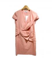 VIKTOR&ROLF(ヴィクターアンドロルフ)の古着「リボンワンピース」|ピンク