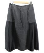 theory luxe(セオリー リュクス)の古着「サイドプリーツスカート」