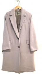 Viaggio Blu(ヴィアッジョブル)の古着「ダブルジャージチェスターコート」|サックスブルー