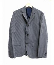 THE NERDYS(ナーディーズ)の古着「Wool Seersucker Jacket」|グレー×ネイビー