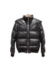 Dior Homme(ディオールオム)の古着「Bee刺繍ダウンジャケット」|ブラック